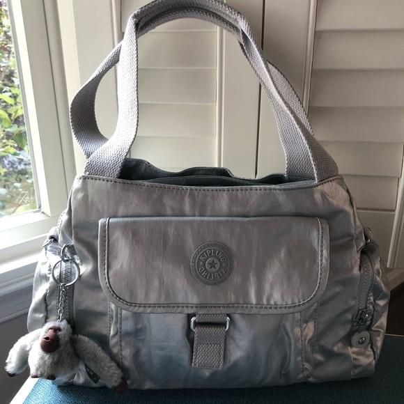 Kipling Handbags - KIPLING Monkey IS included felix metallic satchel 0510a461df
